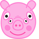 Peppa Pig Front View Pointer