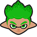 Splatoon 2 Green Inkling Pointer