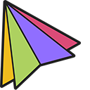 Colored Triangles Pointer