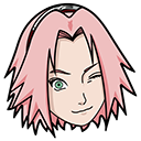 Naruto Sakura Haruno Kunai Shuriken Pointer