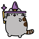 Witch Pusheen Pointer