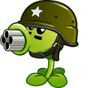 Plants vs Zombies Peashooter and Gatling Pea Pointer