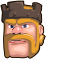 Clash of Clans Barbarian King Pointer