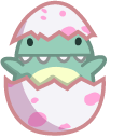 Cute Dino Baby in Egg Pointer