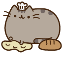 Pusheen the Baker Pointer