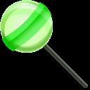 Twist Lollipop and Green Lollipop Pointer