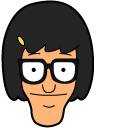 Bobs Burgers Tina Belcher and Chariot Pointer