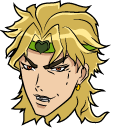 JoJos Bizarre Adventure Dio Brando and Stone Mask Pointer