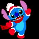 Lilo and Stitch Christmas Stitch Pointer