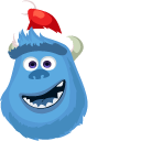 Monsters Inc Christmas Wazowski and Sulley Pointer
