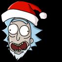 Christmas Rick and Morty Pointer