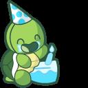 Cute Birthday Turtle Pointer