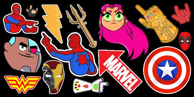 Курсоры Супергероев