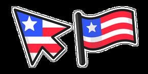 Курсор Liberia Flag