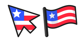 Liberia Flag Cursor