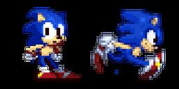 Sonic the Hedgehog Pixel Cursor