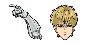 One Punch Man Genos Curseur