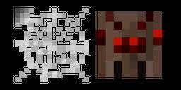 Minecraft Web and Spider Cursor