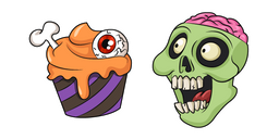 Halloween Zombie Treats Cursor