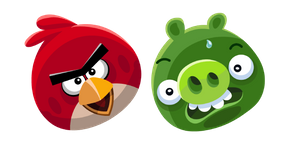 Angry Birds Red and Minion Pig Cursor
