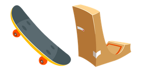 Skateboard Cursor