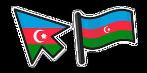 Azerbaijan Flag Cursor