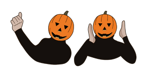 Halloween Pumpkin Dance Curseur