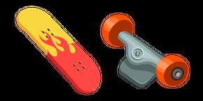 Skateboard Deck Curseur