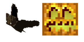 Minecraft Bat and Pumpkin Head Cursor