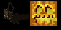 Minecraft Bat and Pumpkin Head Cursor