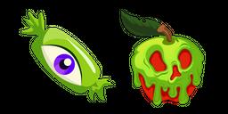Halloween Eye Candy and Poison Apple Cursor