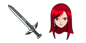 Курсор Fairy Tail Erza Scarlet
