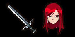 Fairy Tail Erza Scarlet Curseur