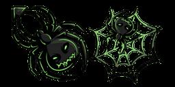 Halloween Acid Spider Cursor