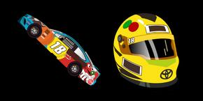NASCAR Kyle Busch Curseur