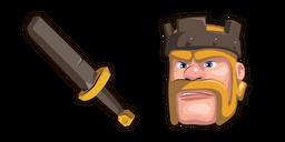Clash of Clans Barbarian King Sword Curseur