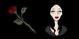 The Addams Family Morticia and Rose Cursor