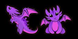 Purple Baby Dragon Cursor