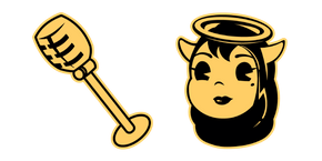 Bendy and the Ink Machine Alice Angel Curseur