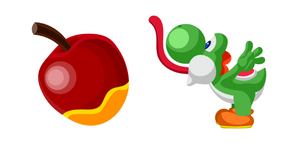 Super Mario Yoshi and Apple Cursor