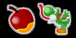 Super Mario Yoshi and Apple Cursor