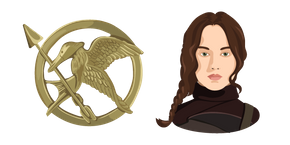 The Hunger Games Katniss Everdeen Cursor