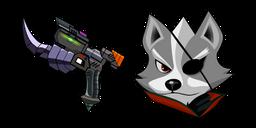 Star Fox Wolf O Donnell Blaster Curseur