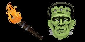 Курсор Halloween Frankenstein
