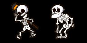 Курсор Halloween Funny Skeleton