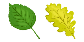 Tree Leaf Cursor