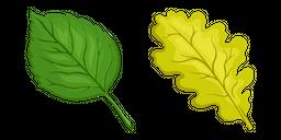 Tree Leaf Cursor