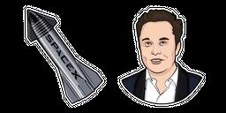 Elon Musk Curseur