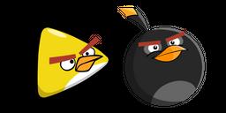 Angry Birds Chuck and Bomb Cursor