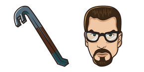Курсор Half-Life Gordon Freeman Crowbar